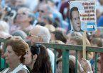 """En el acto por Nisman, Moldes aseguró: """"Murió por denunciar a CFK"""""""