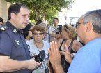 Vecinos de La Matanza se movilizaron al Municipio por la inseguridad