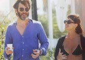 Vitto Saravia , de novia con la estrella de Hollywood Chris Pine