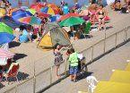 Mar del Plata: del sol a la tormenta, pero como anticipo de un finde ideal