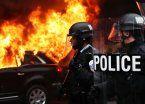 Al menos 200 detenidos tras choque entre anti Trump y y la Policía