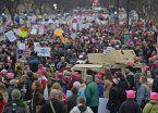 Unas 500 mil personas se manifestaron contra Trump en Washington