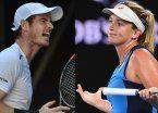 Domingo negro para los 1 en Australia: Murray y Kerber, eliminados