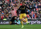 El Atlético de Madrid sufrió para rescatar un empate ante el Bilbao