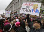 La irónica respuesta de Trump ante la Marcha de las Mujeres