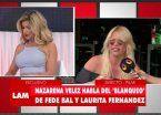 Video | Fuerte tensión en vivo entre Nazarena y Laurita Fernández
