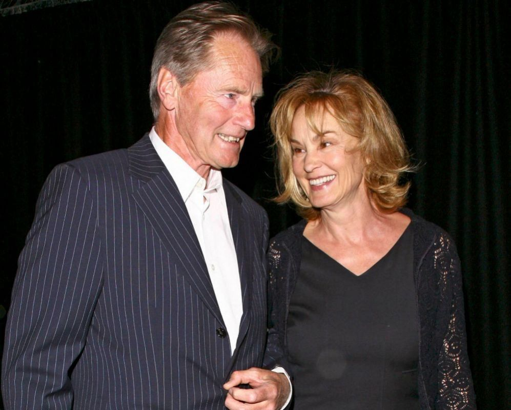 Junto a Jessica Lange, la actriz con la que tuvo dos hijos