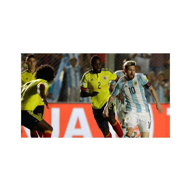 Lionel Messi - Argentina vs. Colombia - Foto: AP