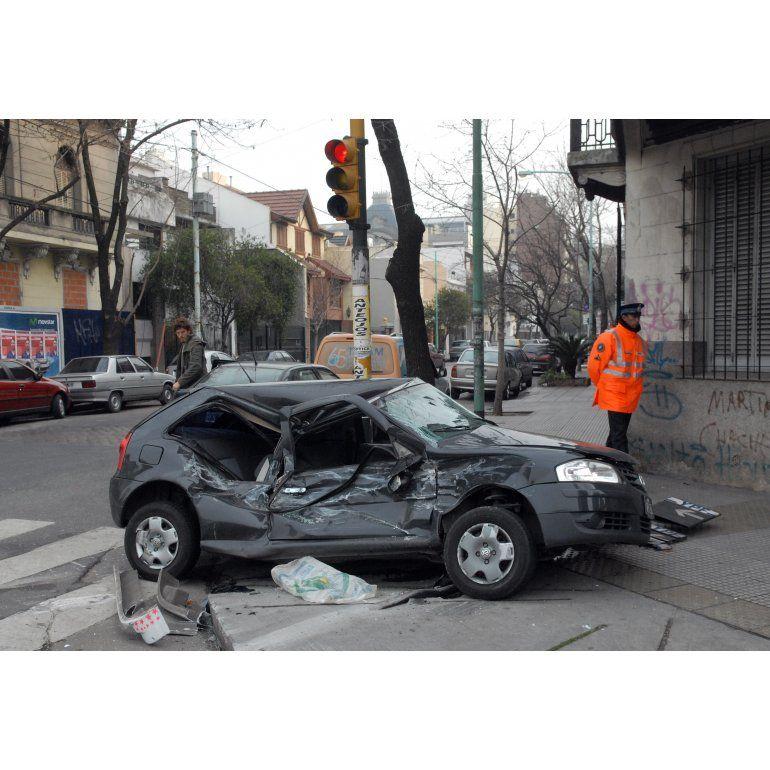 Mueren 60 chicos por mes en accidentes de tránsito