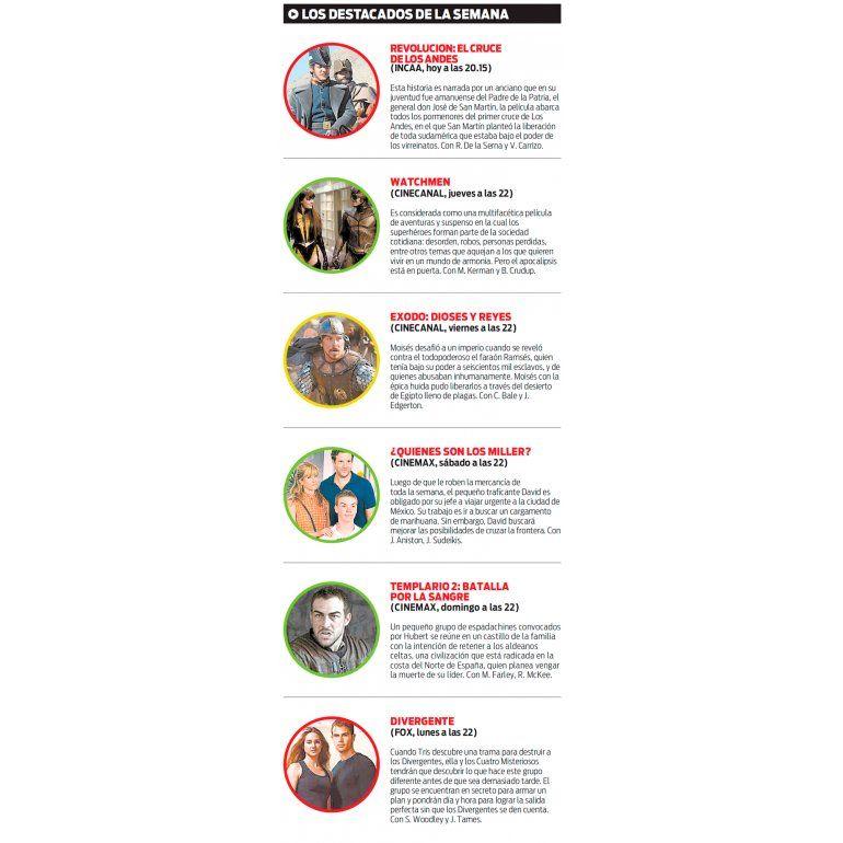 Los destacados de la Semana en TV 8bdee278192