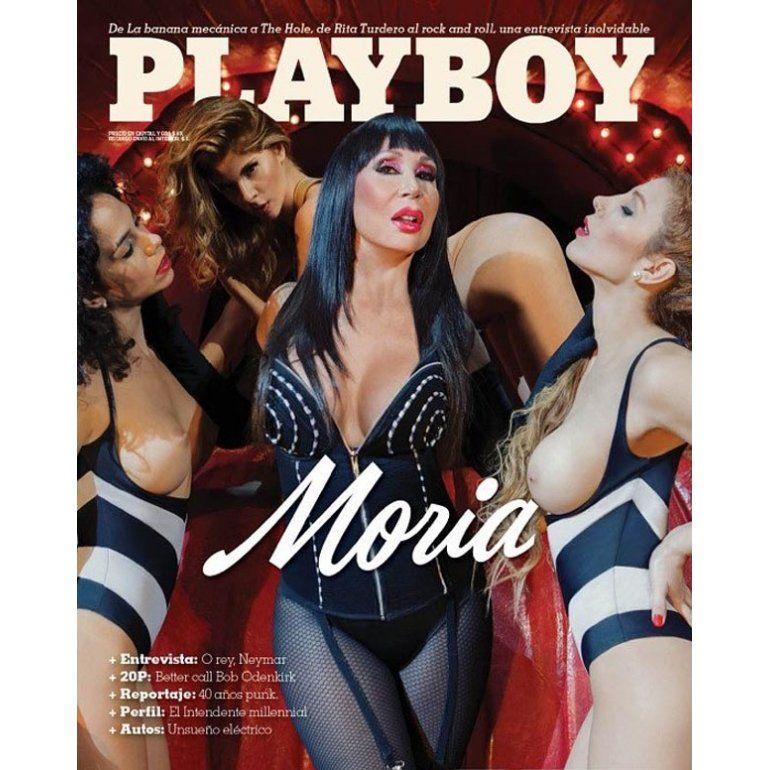 Después De 30 Años Moria Vuelve A Playboy