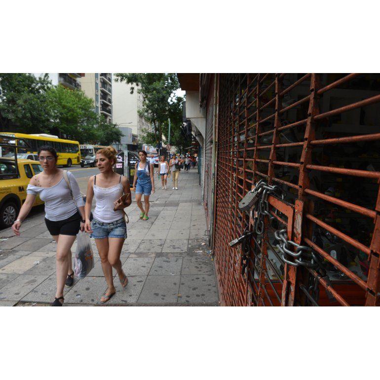 Cada día más locales vacíos en la Ciudad de Buenos Aires