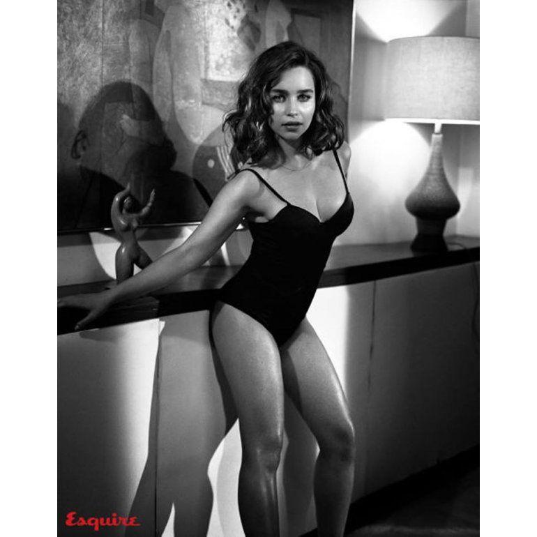 Efecto Playboy Emilia Clarke No Se Desnuda Pero