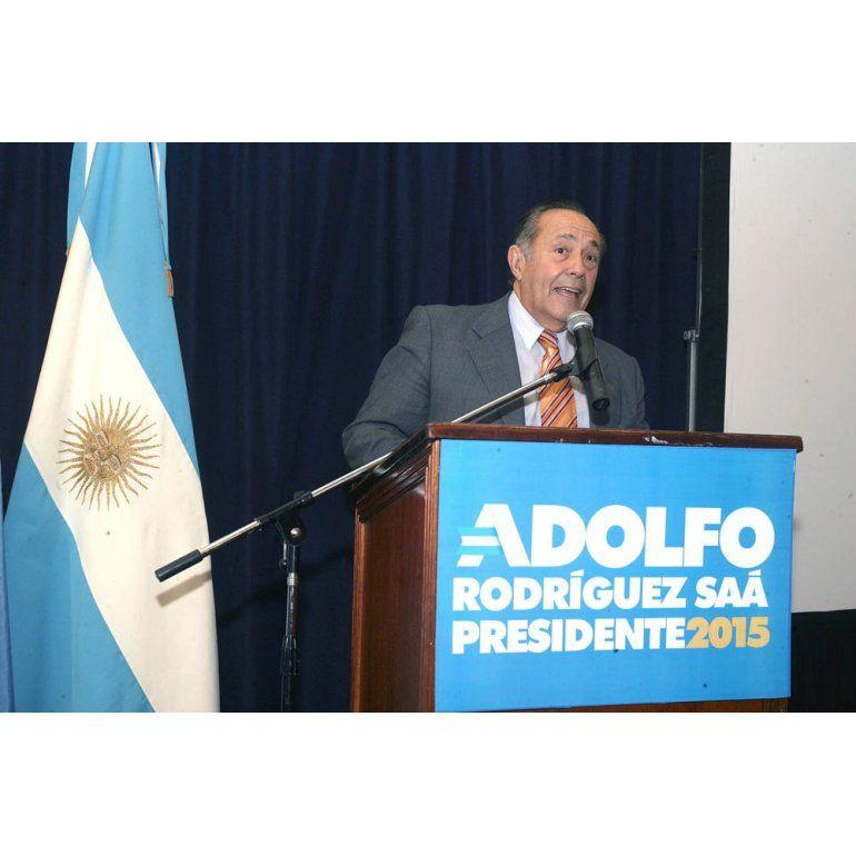 Adolfo Rodríguez Saá, el ex presidente que va  por la revancha