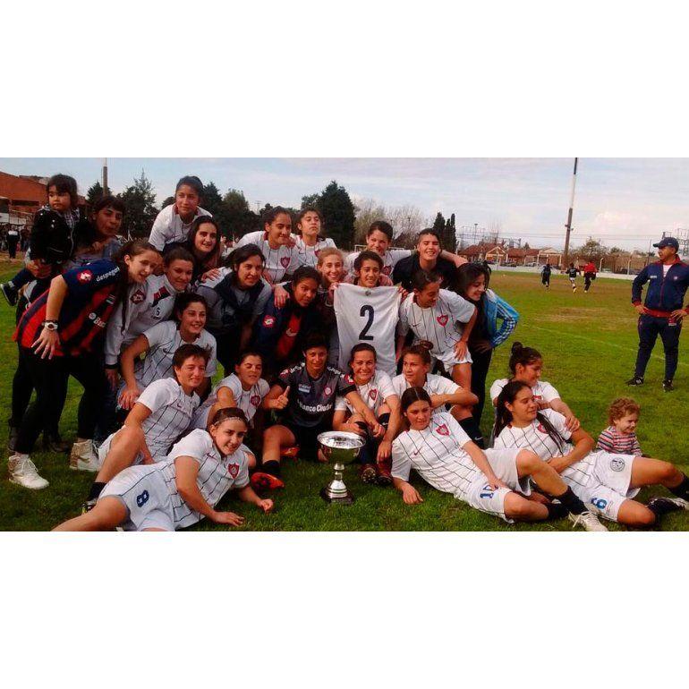 San Lorenzo, campeón del fútbol femenino