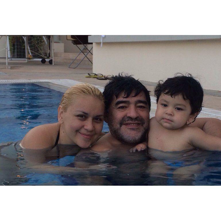 Los fuertes insultos y acusaciones de Rocío a Maradona y Ojeda