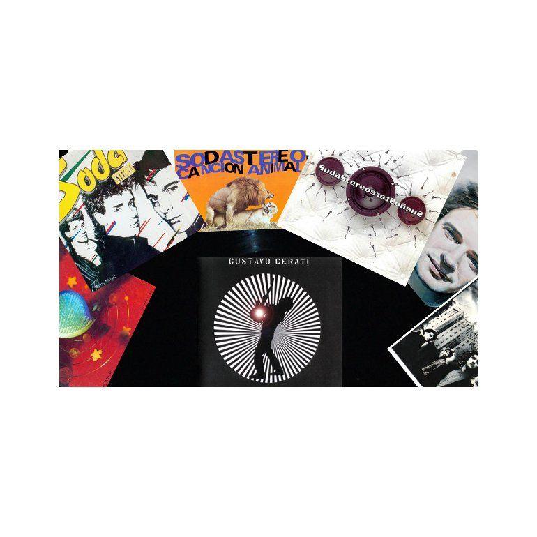 La discografía completa de Gustavo Cerati