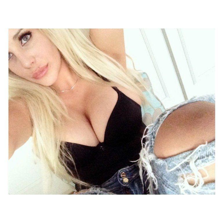 Charlotte Caniggia y un topless polémico en Twitter