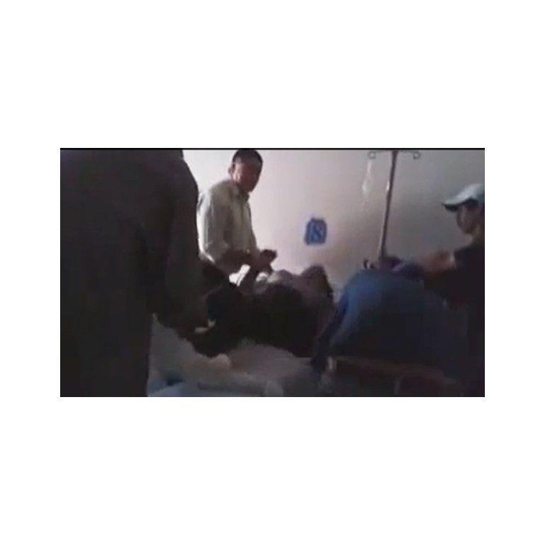 Las imágenes del exorcismo de una mujer en Santiago del Estero