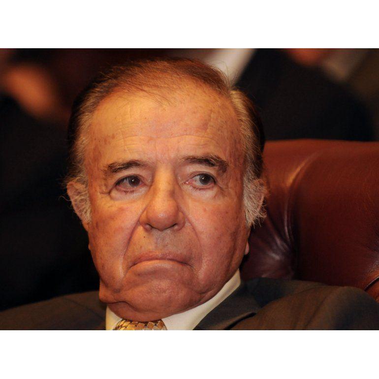Revés judicial para Menem en causa vinculada al tráfico de armas