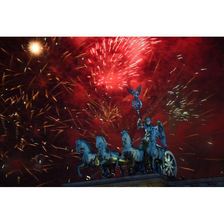 El mundo y los festejos por la llegada de 2014