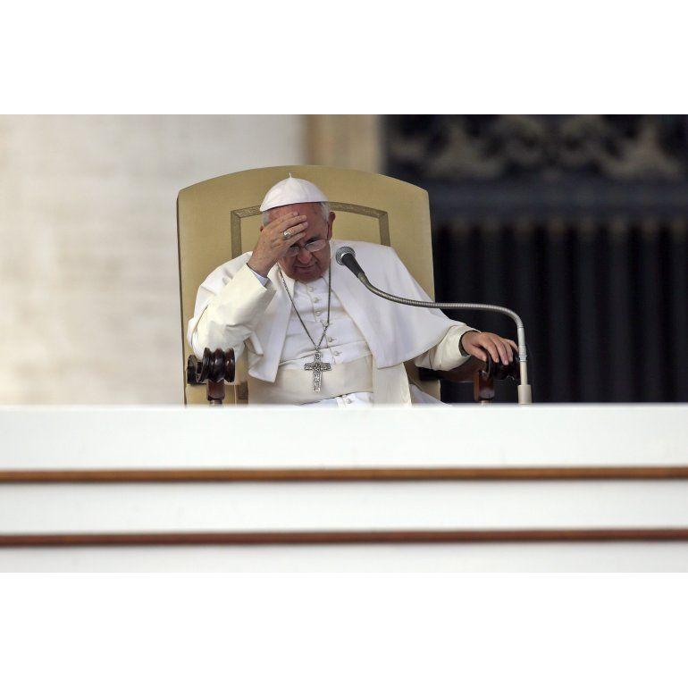 Se enfermó el Papa Francisco y canceló su agenda
