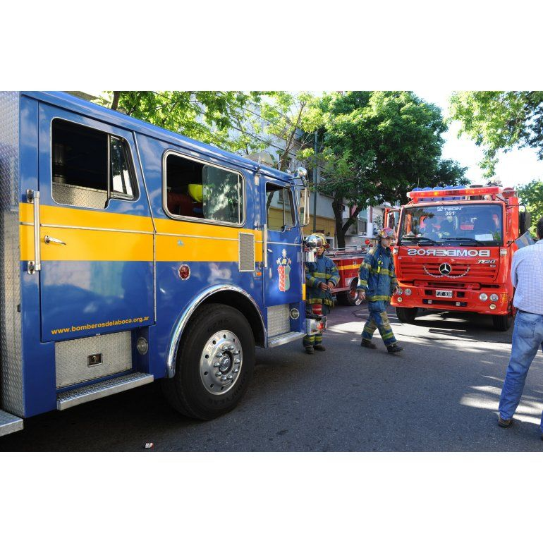 La Boca: murieron dos chicos por un incendio en un conventillo