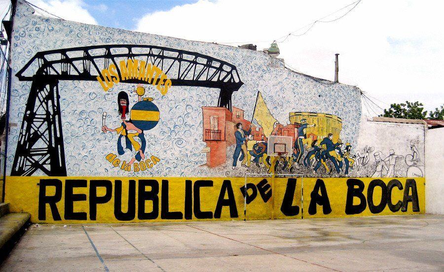Cuando la República de La Boca se independizó