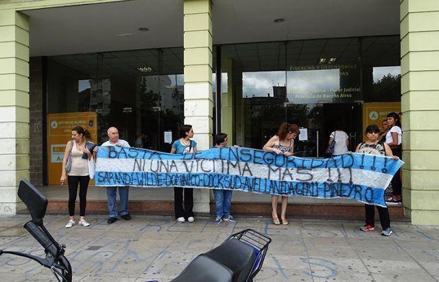 Vecinos reclamaron seguridad en el Polo Judicial de Avellaneda