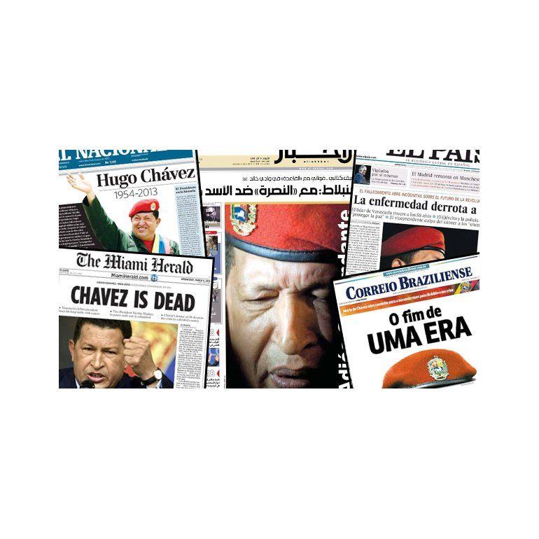 Así reflejaron los medios del mundo la muerte de Hugo Chávez