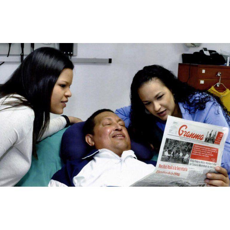 Ahora sí, las fotos de Hugo Chávez
