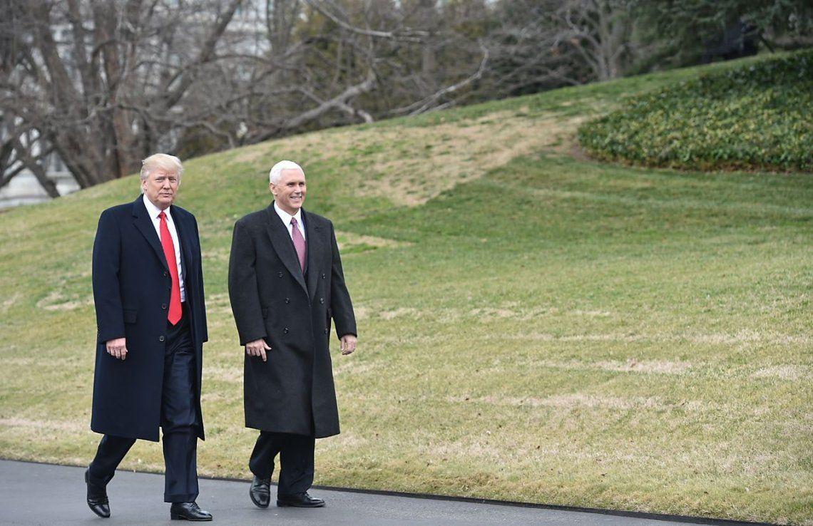 Estados Unidos: Trump no será destituido por su vice