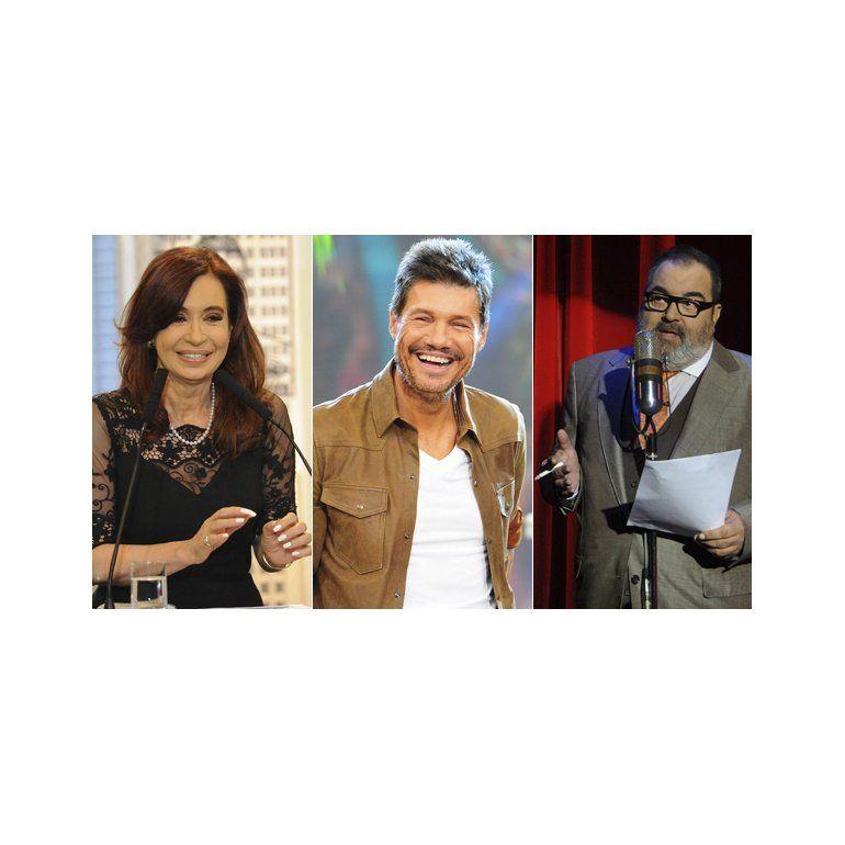 Cristina, Tinelli y Lanata, los personajes más influyentes del país