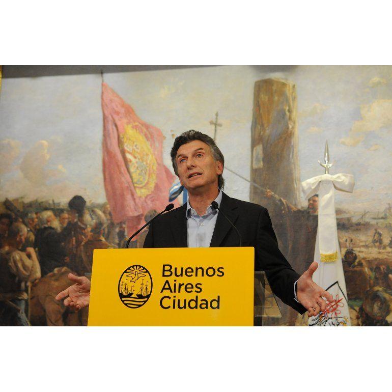 Macri: Espero que nosotros no sigamos nada de Chávez
