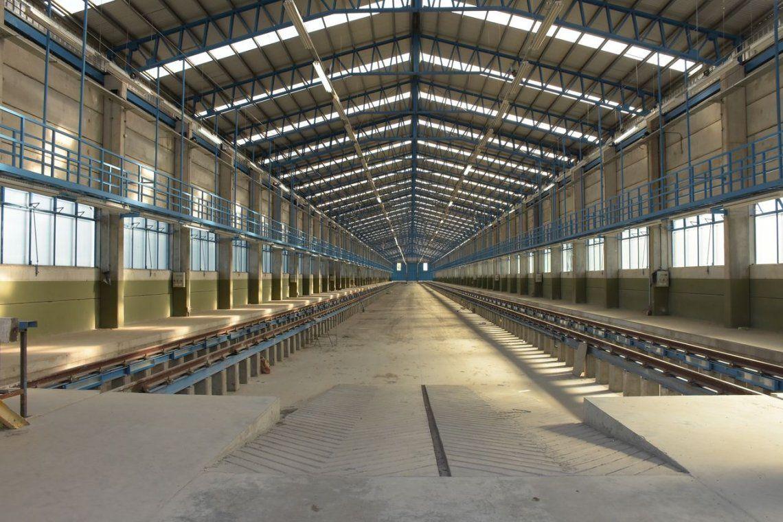 Nuevo taller para trenes en kilómetro 5 del ramal Roca
