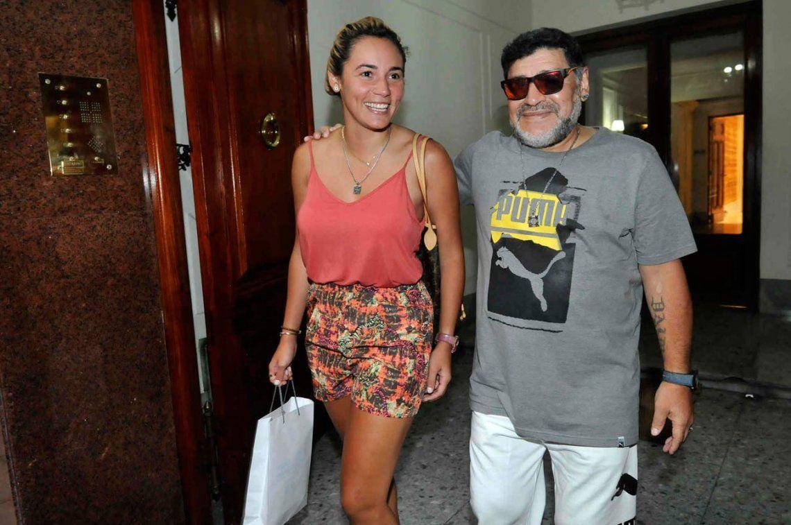 ¿Rocío Oliva intercedió para que Diego Maradona conozca a su nieta Roma?