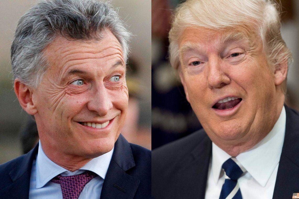 Macri habló cinco minutos con Trump y fue invitado a la Casa Blanca