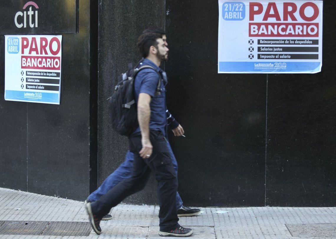 Bancarios levantaron el paro de 72 horas