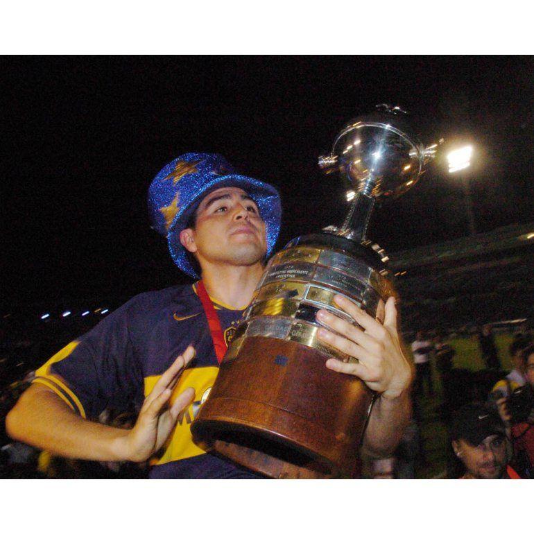 Momentos históricos de Riquelme en Boca