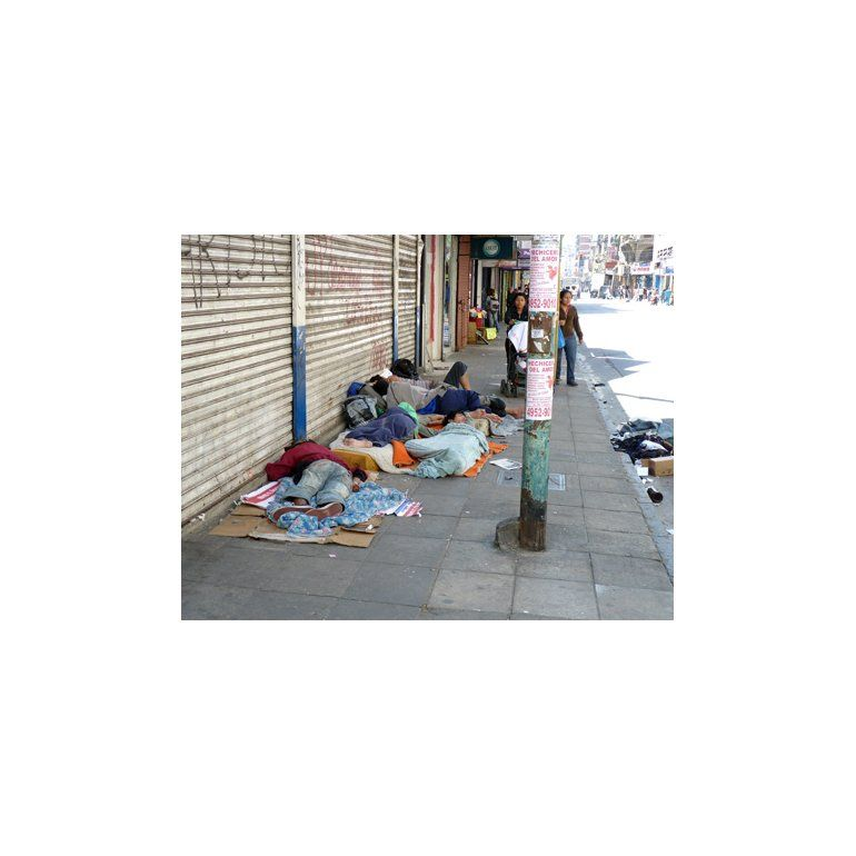 Frío y coronavirus: Murió un hombre en situación de calle