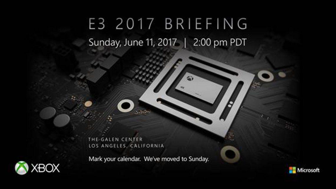Project Scorpio, la nueva consola de Microsoft, tiene fecha de presentación