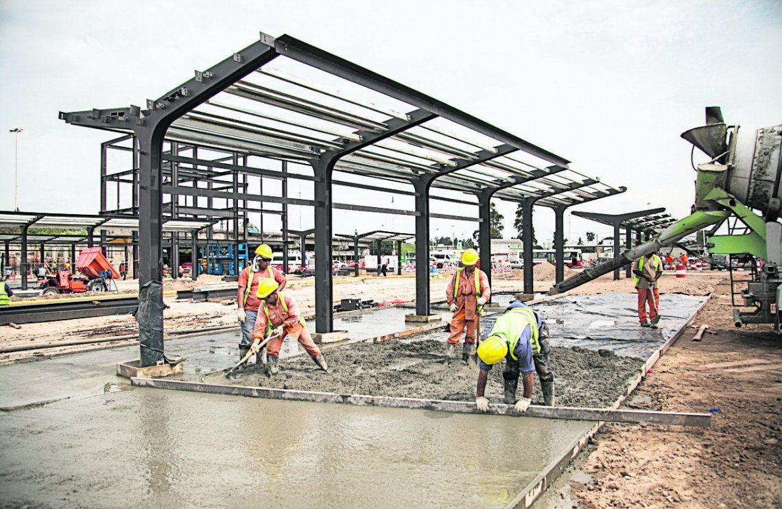 Ya se concretó el 60% de la obra del Metrobus en La Matanza