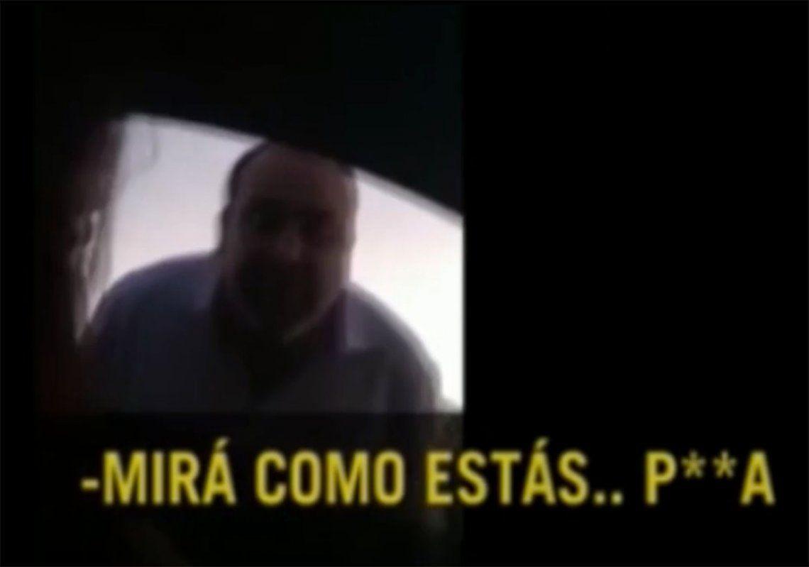 Difunden video de Pato Cabrera donde denigra a ex pareja