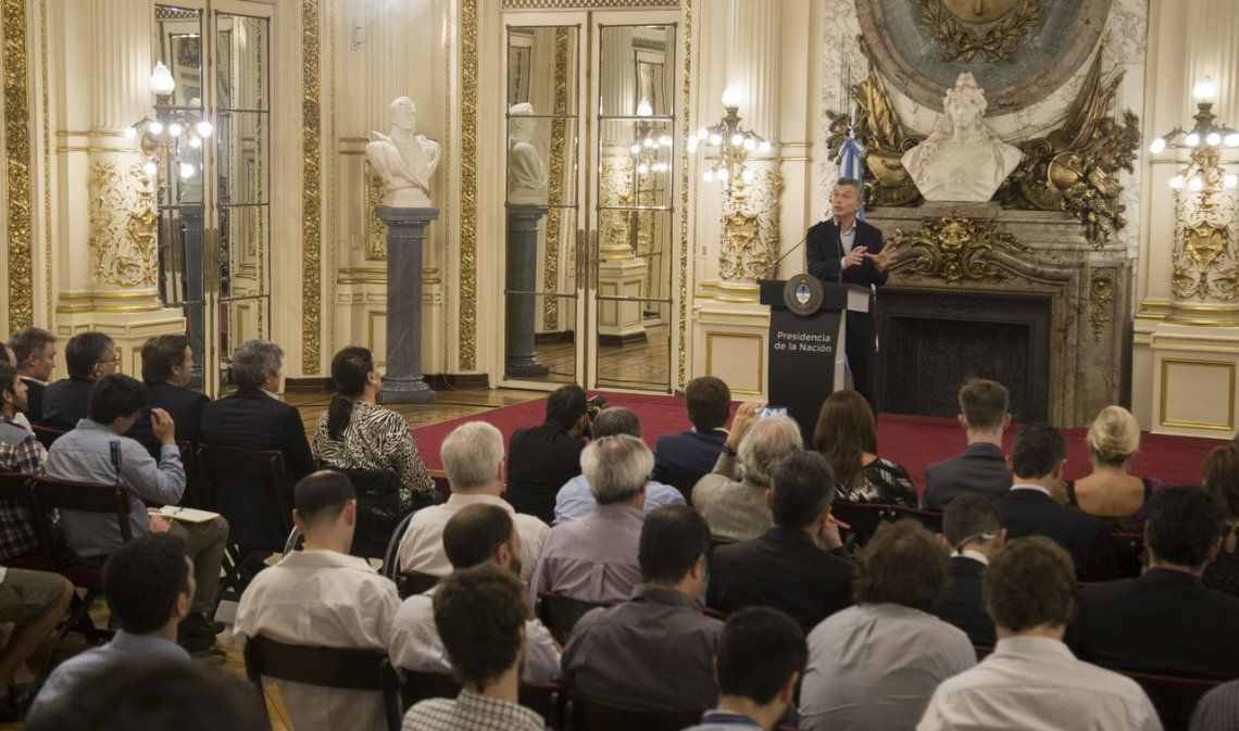Macri y una aparición pública para ponerle frío a la polémica