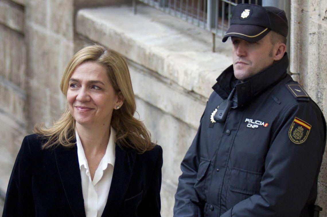 La infanta Cristina absuelta, el marido condenado a seis años de prisión