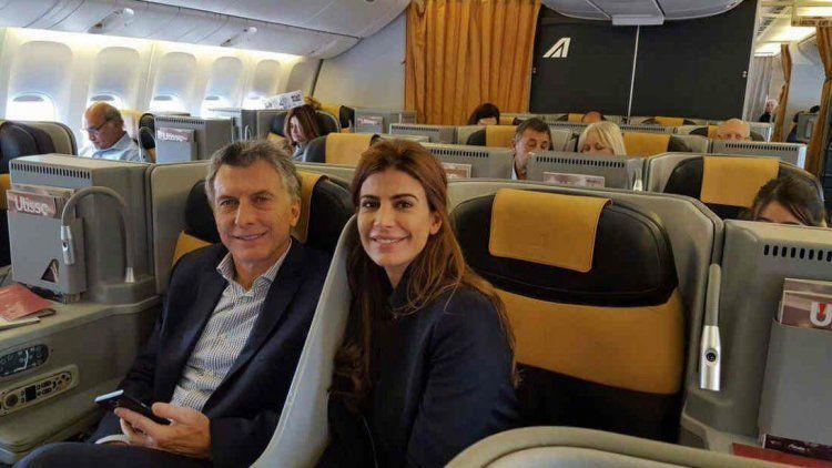 Por primera vez, Macri volará en Aerolíneas Argentinas