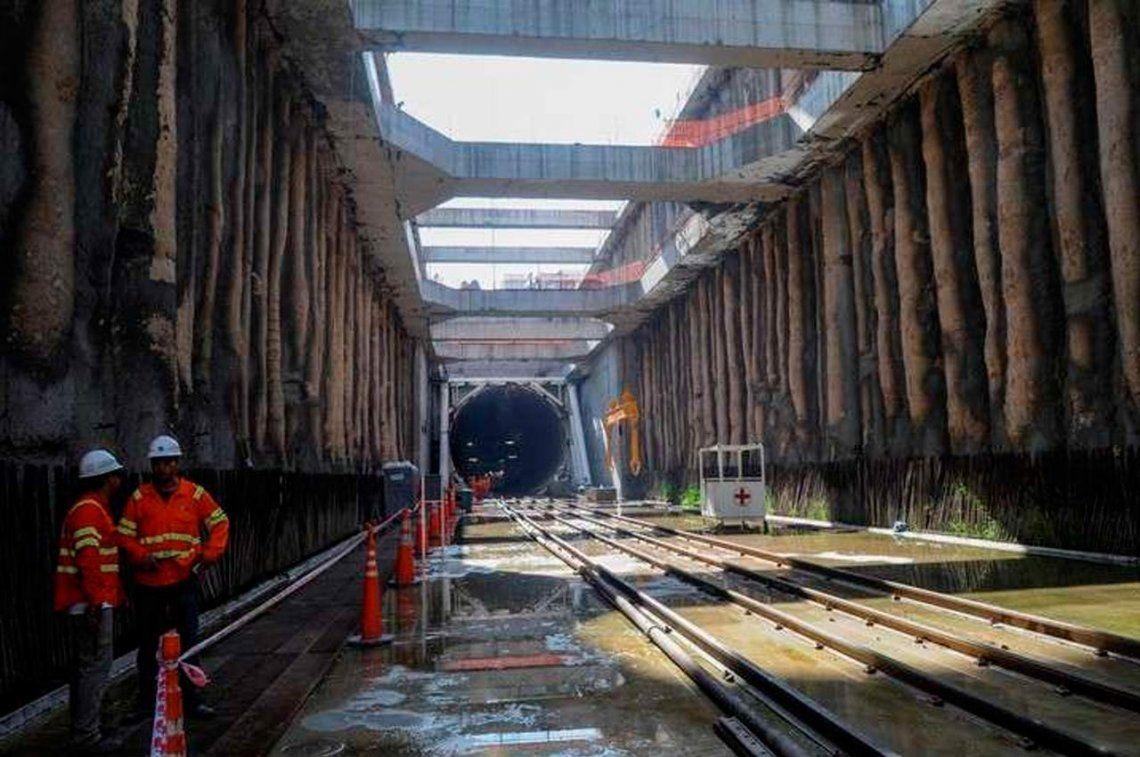 Ferrocarril Sarmiento: el Gobierno avanza en la idea de la rescisión del contrato del soterramiento