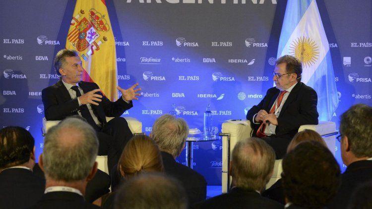 Macri, entre su visita a España y lidiar con el frente interno