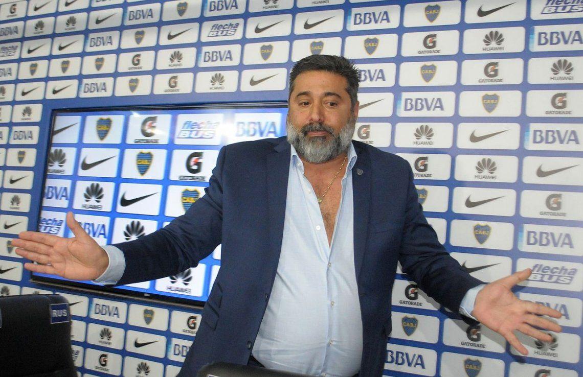 Angelici: A Riquelme le ofrecería ser el manager de Boca