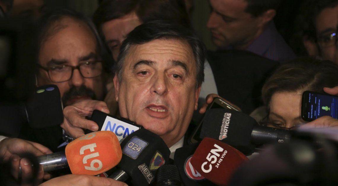 El oficialismo reconoció que no tiene los votos para expulsar a De Vido